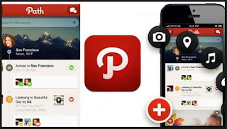 share foto video aplikasi path