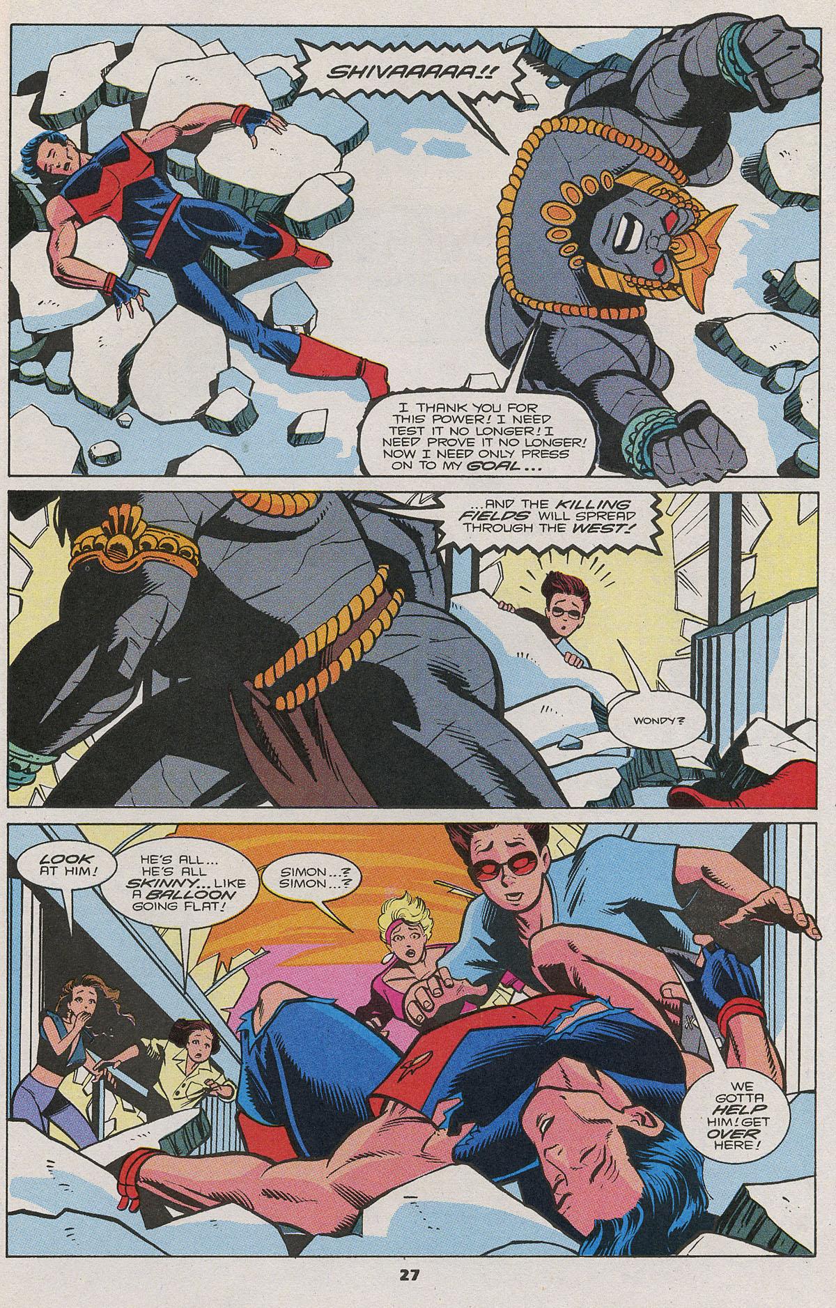Read online Wonder Man (1991) comic -  Issue #11 - 20