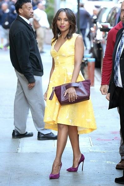 Kerry Washington: Style, Hair And The Purple Purse