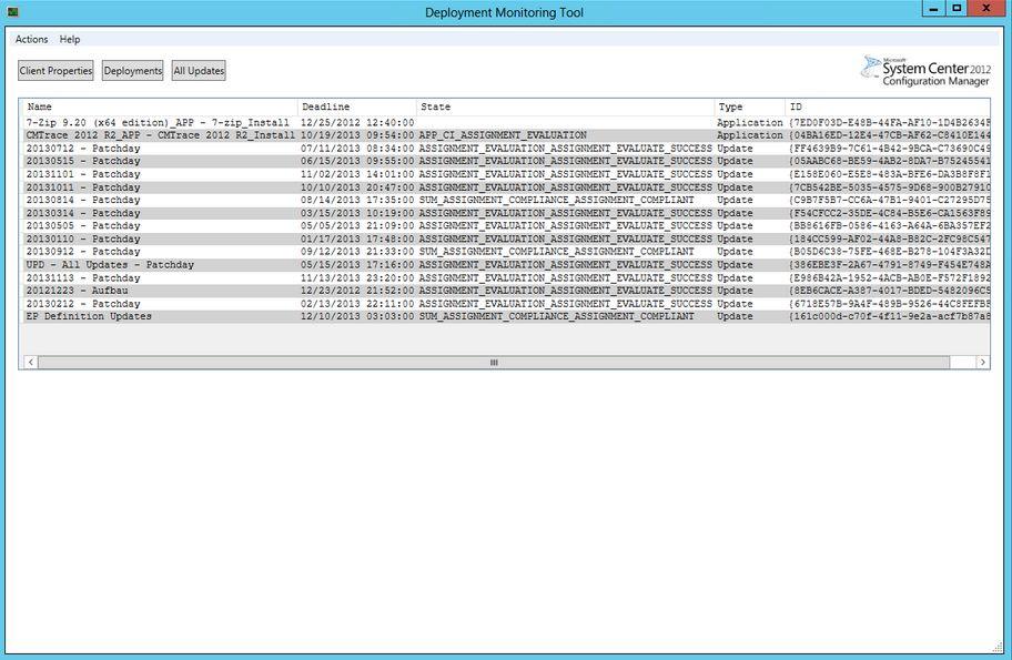 SCCM 2012 for Beginners to Intermediate : Deployment Monitoring Tool