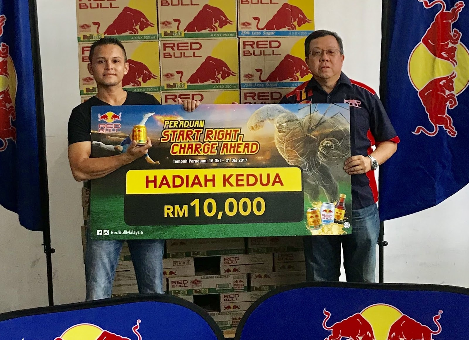 Red Bull Distributed Rm250 000 To 904 Lucky Winners Gainsinfo Com