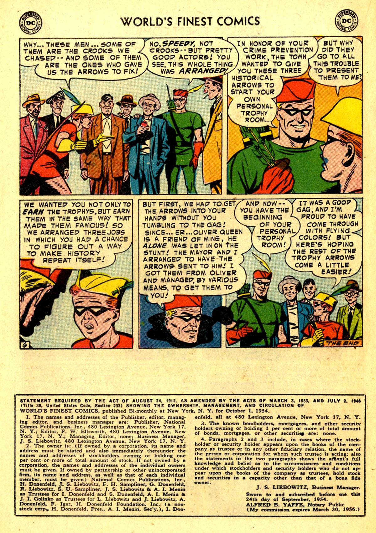 Read online World's Finest Comics comic -  Issue #75 - 22