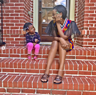 Photos of Davido's BabyMama Sophia Momodu and daughter Imade on vacation in the US