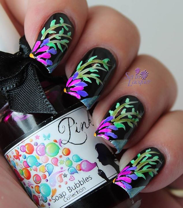 Try These Colorfull Nails Art