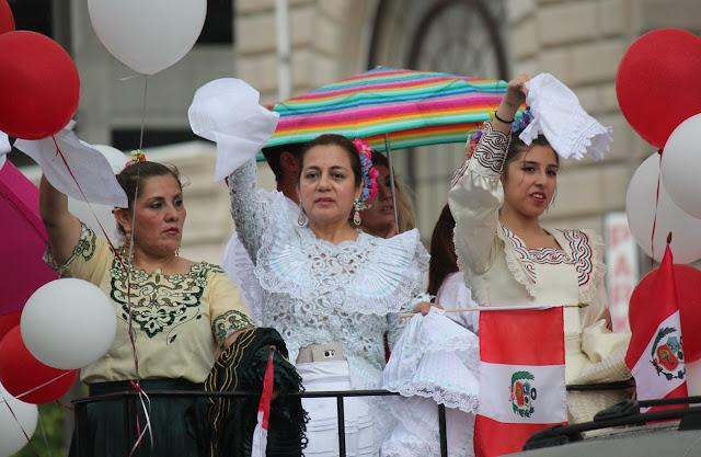 desfile peruano de New Jersey 2016
