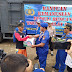 Ditpolairut Baharkam Polri Beserta Ditpolairut Polda Banten Berikan Bantuan Kemanusiaan Bencana Tsunami Di Banten