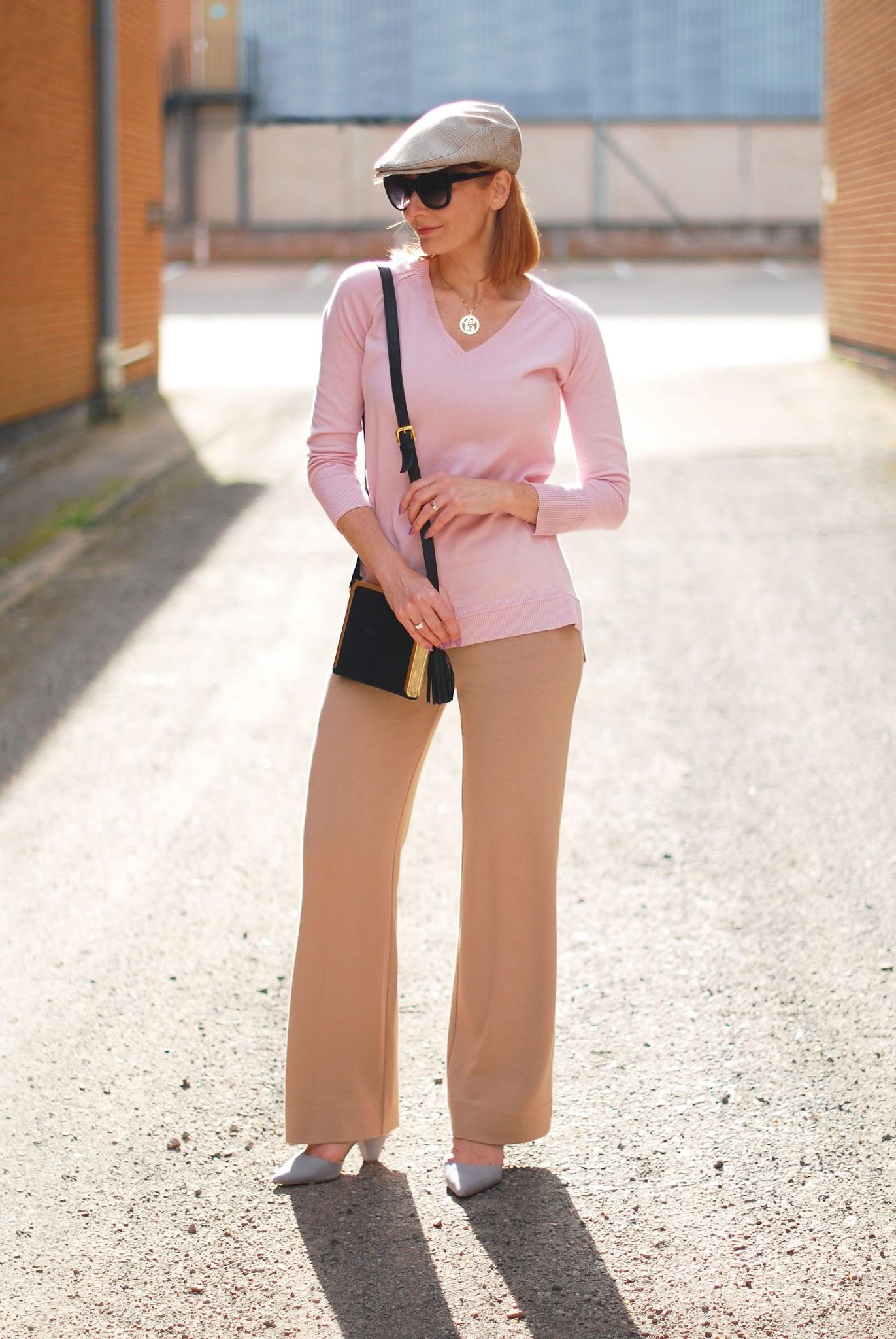 Catherine, Not Dressed as Lamb wears Winser London