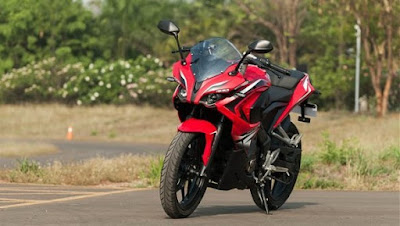 Bajaj Pulsar RS 200 Reacing bike