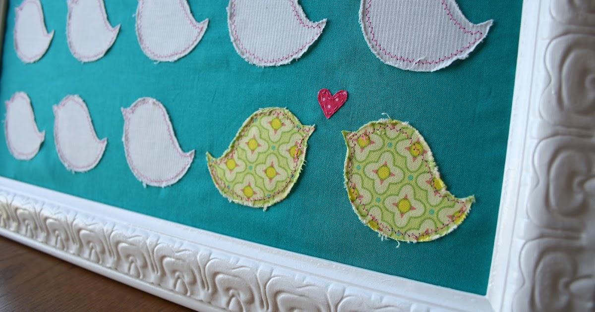 dresdencarrie: love bird wall art