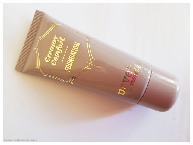 Neve Cosmetics Creamy Confort Foundation packaging