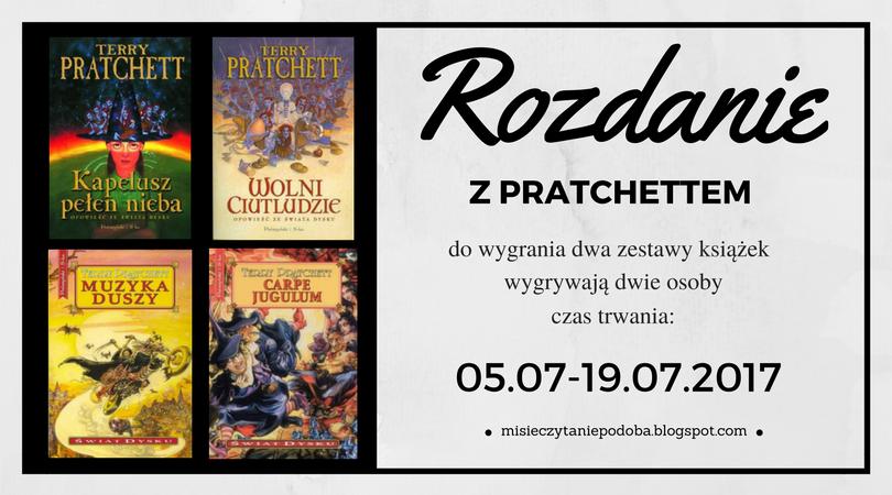 Rozdanie! Do wygrania 2 zestawy książek ze Świata Dysku