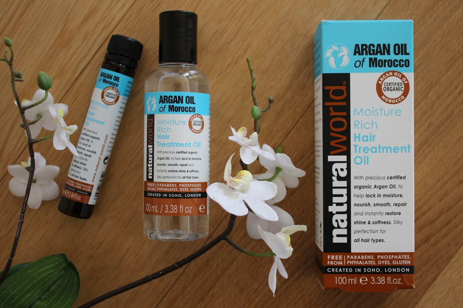 Natural World Argan Oil Haircare Range - 3