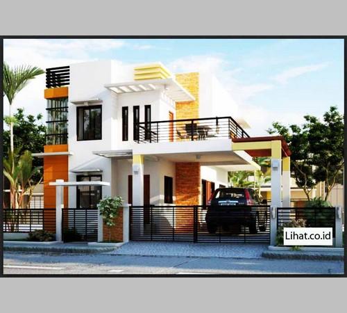 desain rumah ala eropa modern klasik dan minimalis terbaru