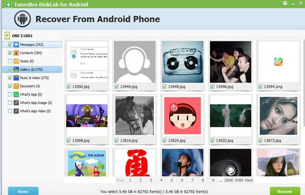 inilah Cara Recover Lost Data Pada Perangkat Android Dengan TunesBro 2