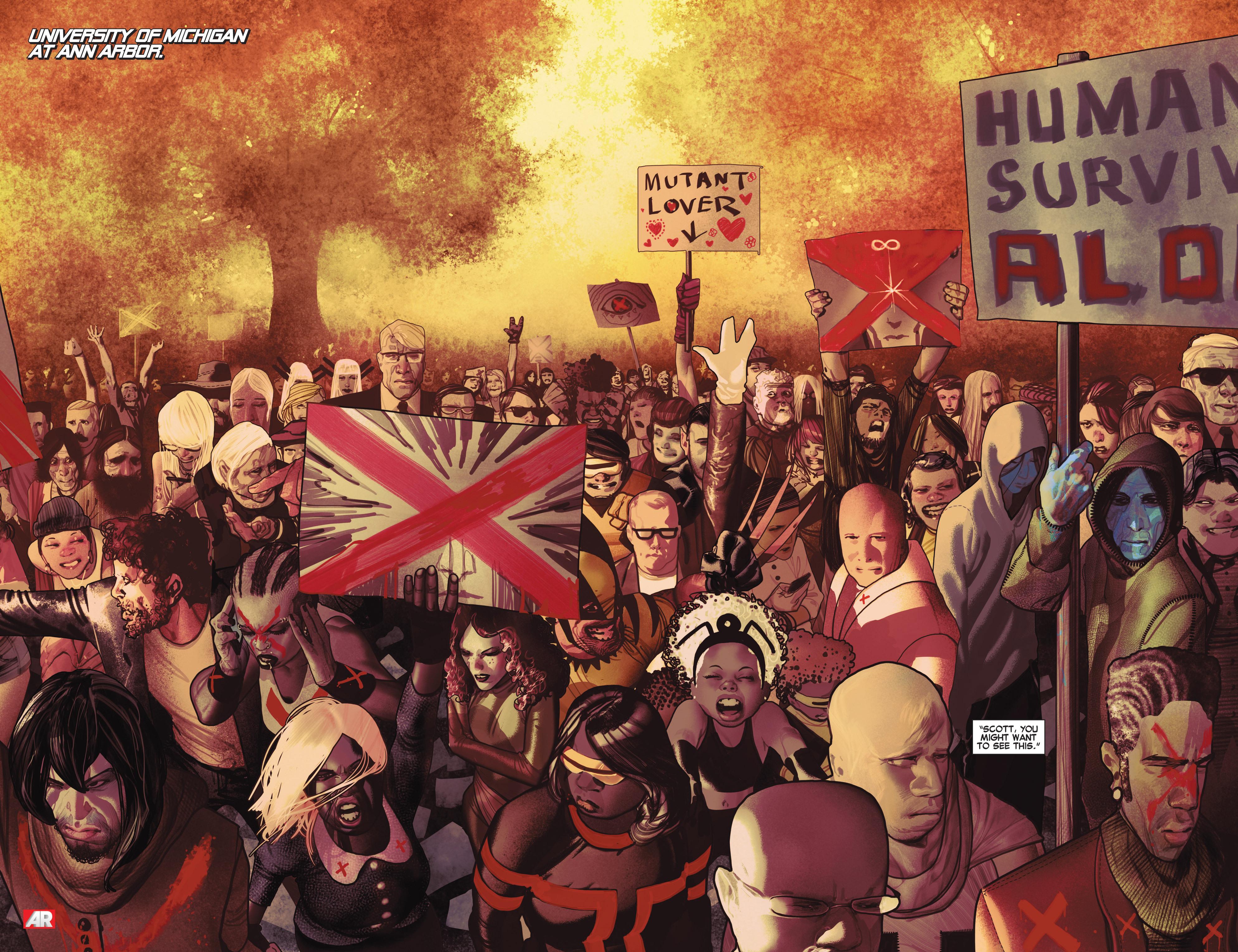 Read online Uncanny X-Men (2013) comic -  Issue # _TPB 2 - Broken - 91