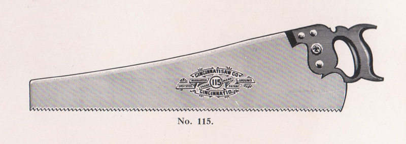 warranted superior hand saw history