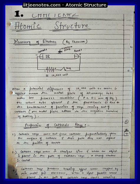 Atomic Structure 1