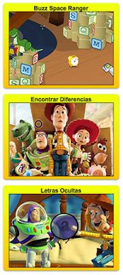 Juegos de Toy Story 4 en español