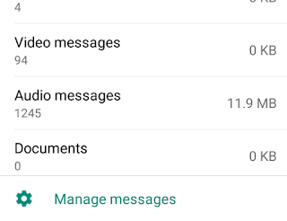 manage messages