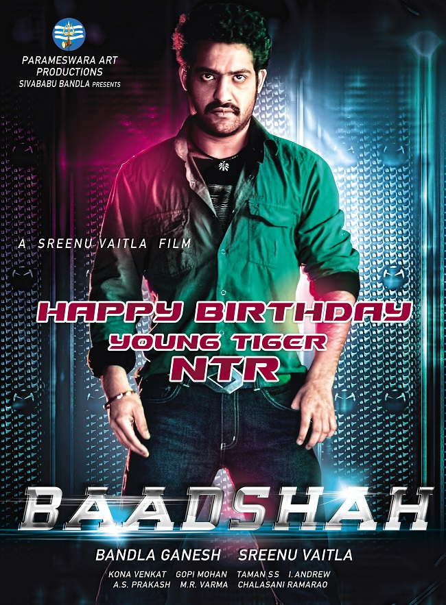 Jr NTR's Baadshah First Look Poster