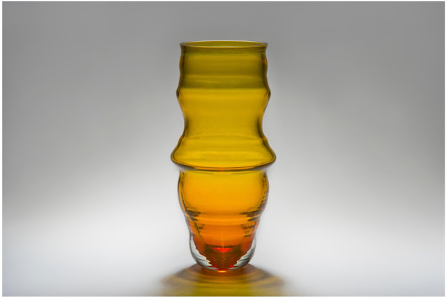 Breathe glassware collaboration by Jahday Ford and Joseph Hillary