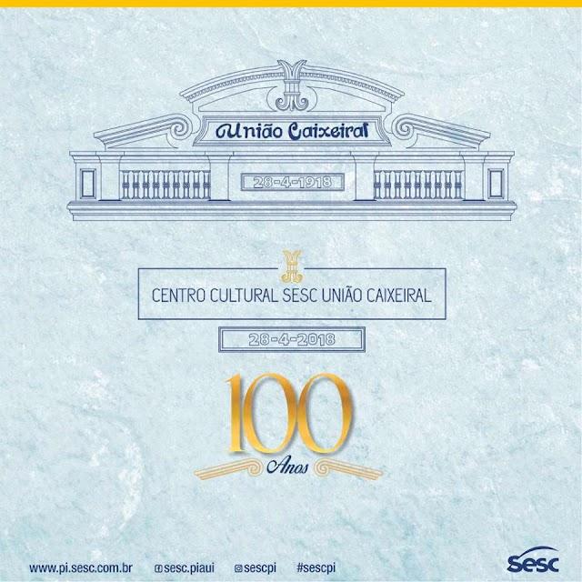 No centenário da União Caixeiral, palestras, concertos e exposições.