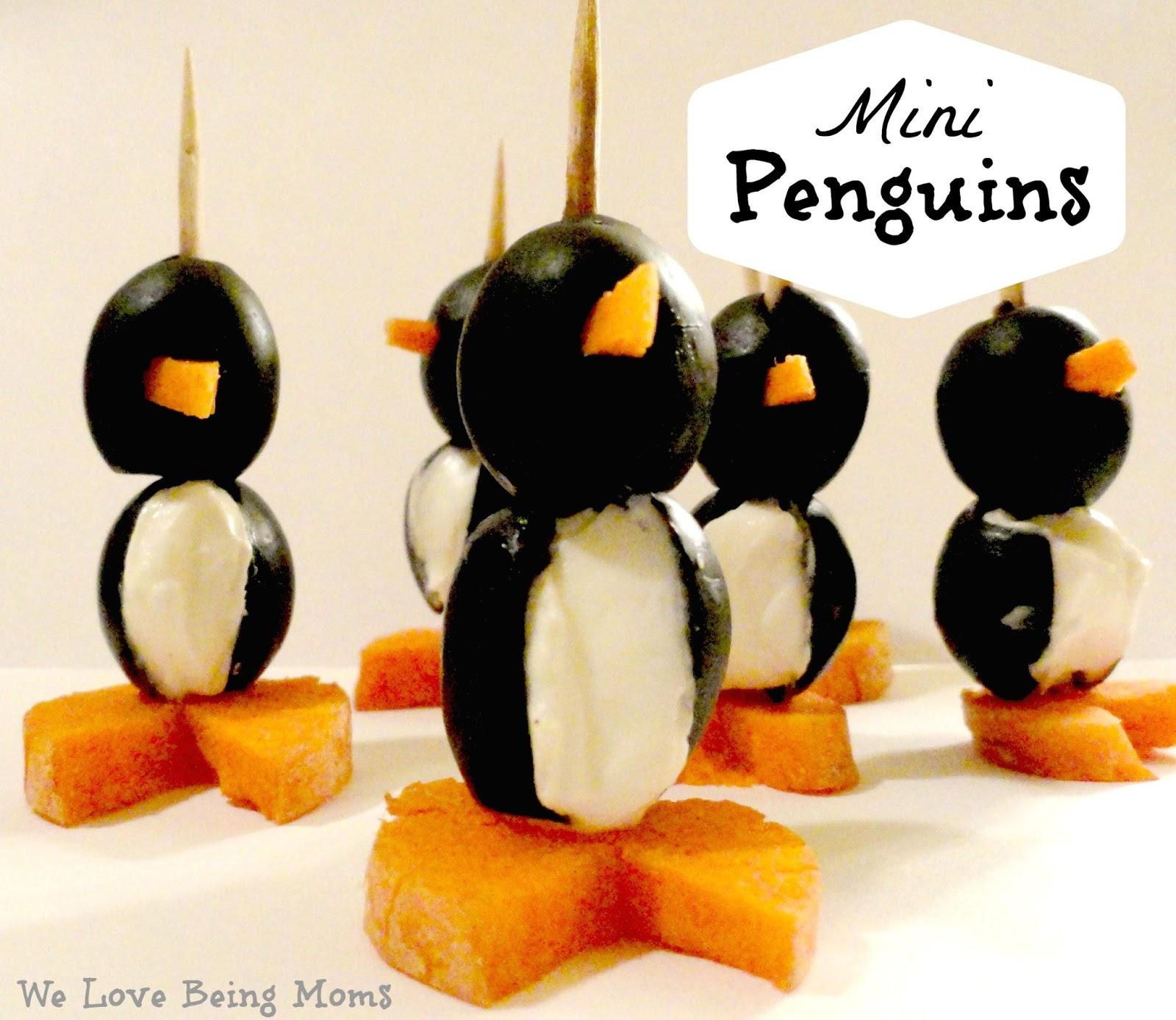 We Love Being Moms Letter P Penguin Amp Panda