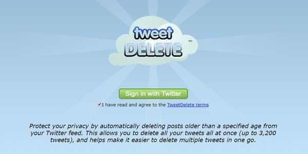 menghapus tweet lama di twitter sekaligus gratis