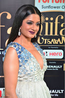 Vimala Raman in a Deep Neck White Shaded Sleeveless Gown ~  Exclusive 28.JPG