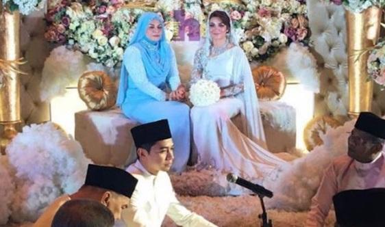 EKSKLUSIF 7 FOTO Majlis Pernikahan AMARA BAHARIN & AMYRA ROSLI. Tahniah!