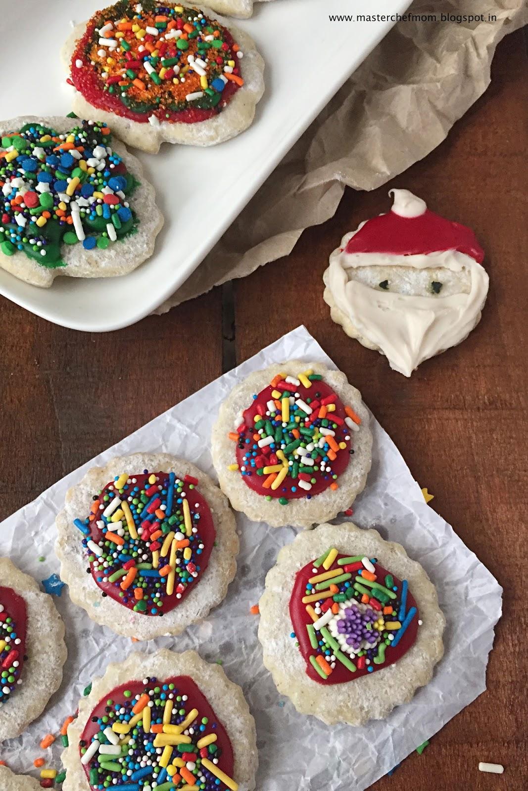Classic Sugar Cookies ( Eggless