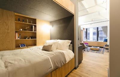 Thiết kế căn hộ nhỏ gọn nhưng tiện dụng