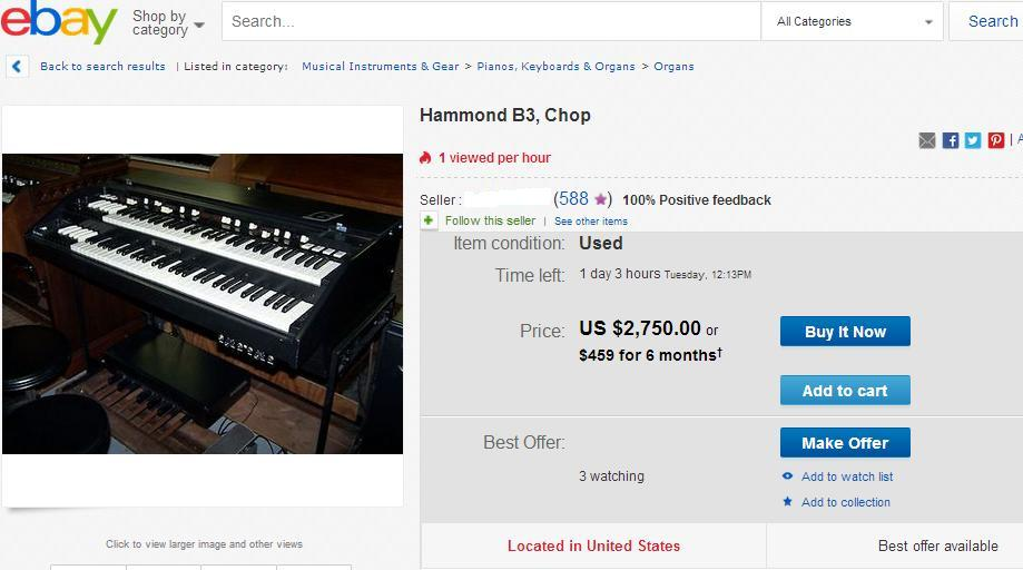The Chopper's Guide to the Hammond Organ Universe