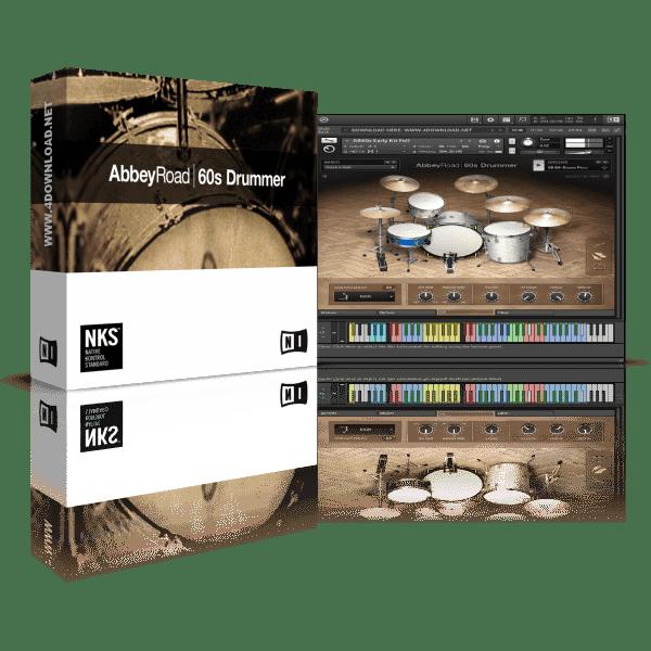 Native Instruments Abbey Road 60s Drummer KONTAKT Library