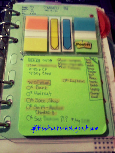 post-it, post-it notes, planner, dashboard, Planner Dashboard