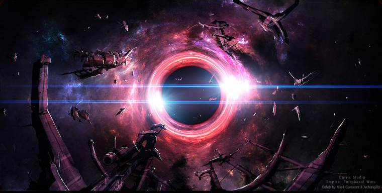black holes radiation - photo #11
