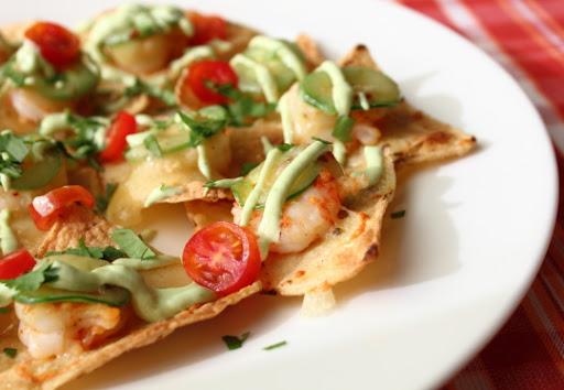 Shrimp & Jalapeno Nachos for Cinco de Mayo or Cinco de Anytime