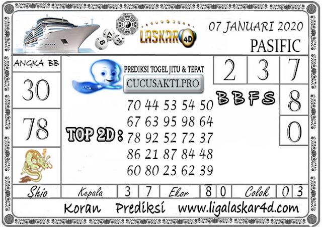 Prediksi Togel PASIFIC LASKAR4D 07 JANUARI 2020