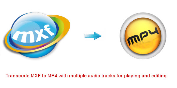 Seamlessly transcode MXF to MP4 with multiple audio tracks