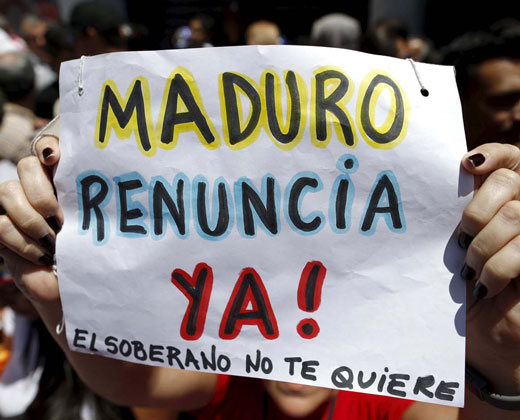 Chavistas disidentes pedirán revocar a Maduro