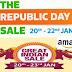 Top deals from Flipkart Republic Day sale & Amazon great Indian sale