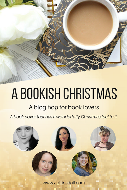 A Bookish Christmas: A​ ​book​ ​cover​ ​that​ ​has​ ​a wonderfully​ ​Christmas​ ​feel to​ ​it