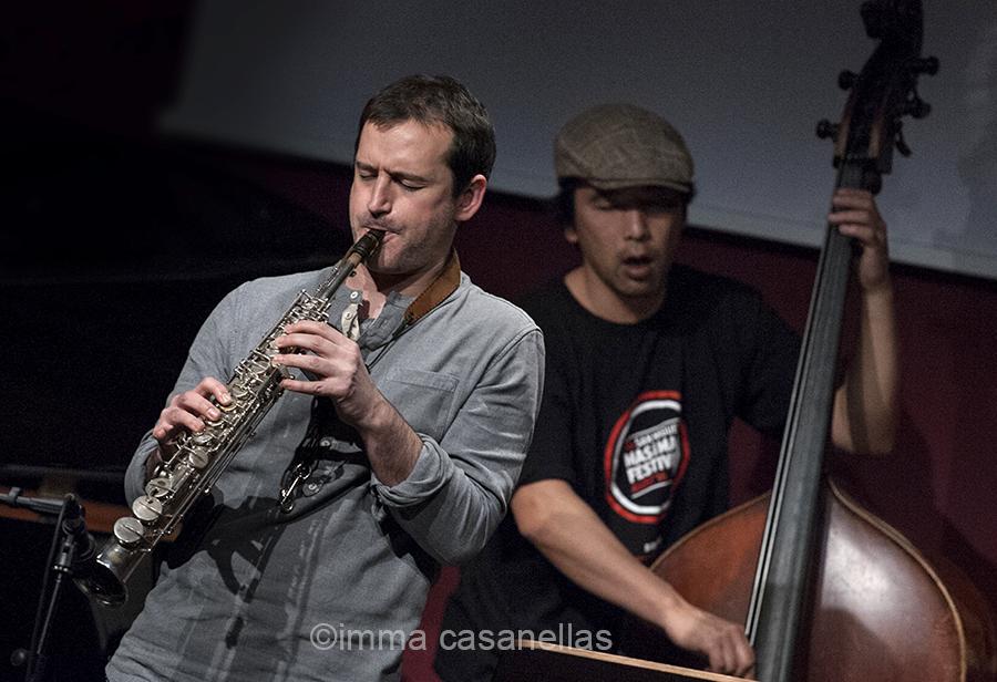 Miguel Fernández amb Masa Kamaguchi, Auditori de Vinseum, Vilafranca del Penedès, 17-desembre-2016
