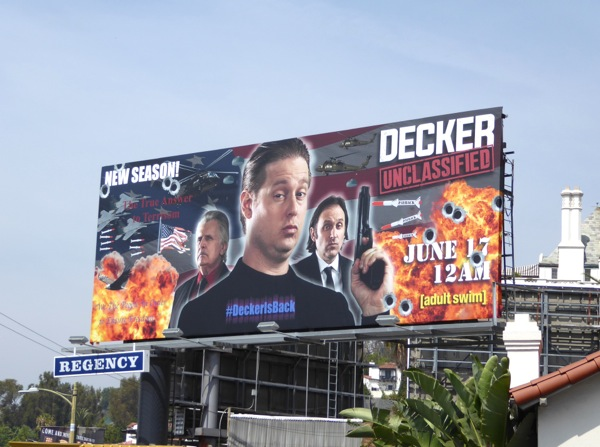 Decker Unclassified Adult Swim billboard