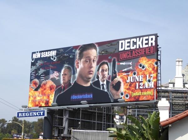 Decker Unclassified Adult Swim billboard