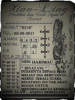 Kode Syair Sgp Hk Xiao Ling Kamis