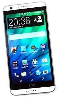 Cara Reset HTC Desire 820 lupa pola / password