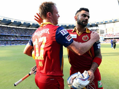 RCB 227 runs AB De Villiers 82 Kohli 75 Sarafazr 35 runs Highlights RCB vs SRH IPL 2016