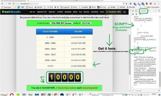freebitco.in free roll hack script