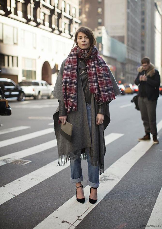 Fashion Attacks tartan scarf inspiration